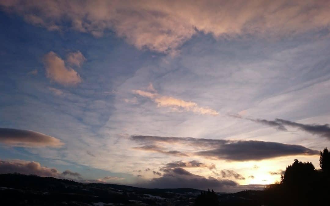 Enjoy a Beautiful Spring Sunset While I'm Away