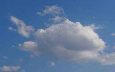 Using Cloud Shapes and My Imagination to Create Drawings