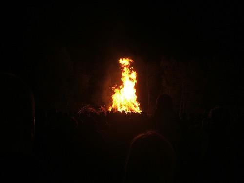 Bonfire (Night) by WordRidden on Flickr