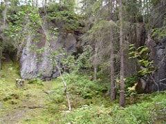 A road stone quarry