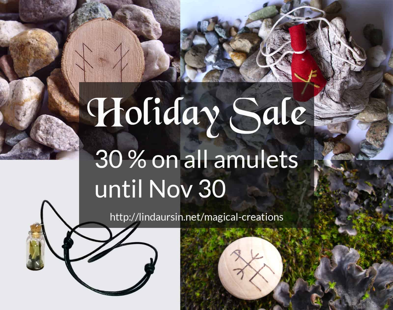 amulets holiday sale