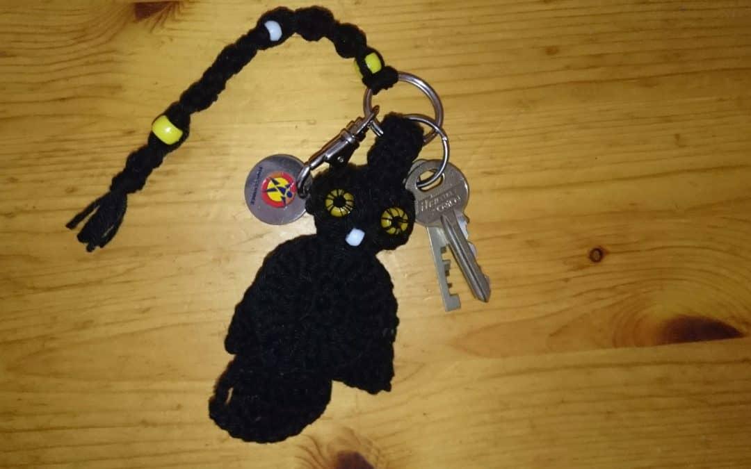 Another Crochet Creation – an Owl on a Keychain