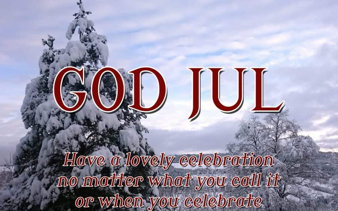 Have a Wonderful Jul
