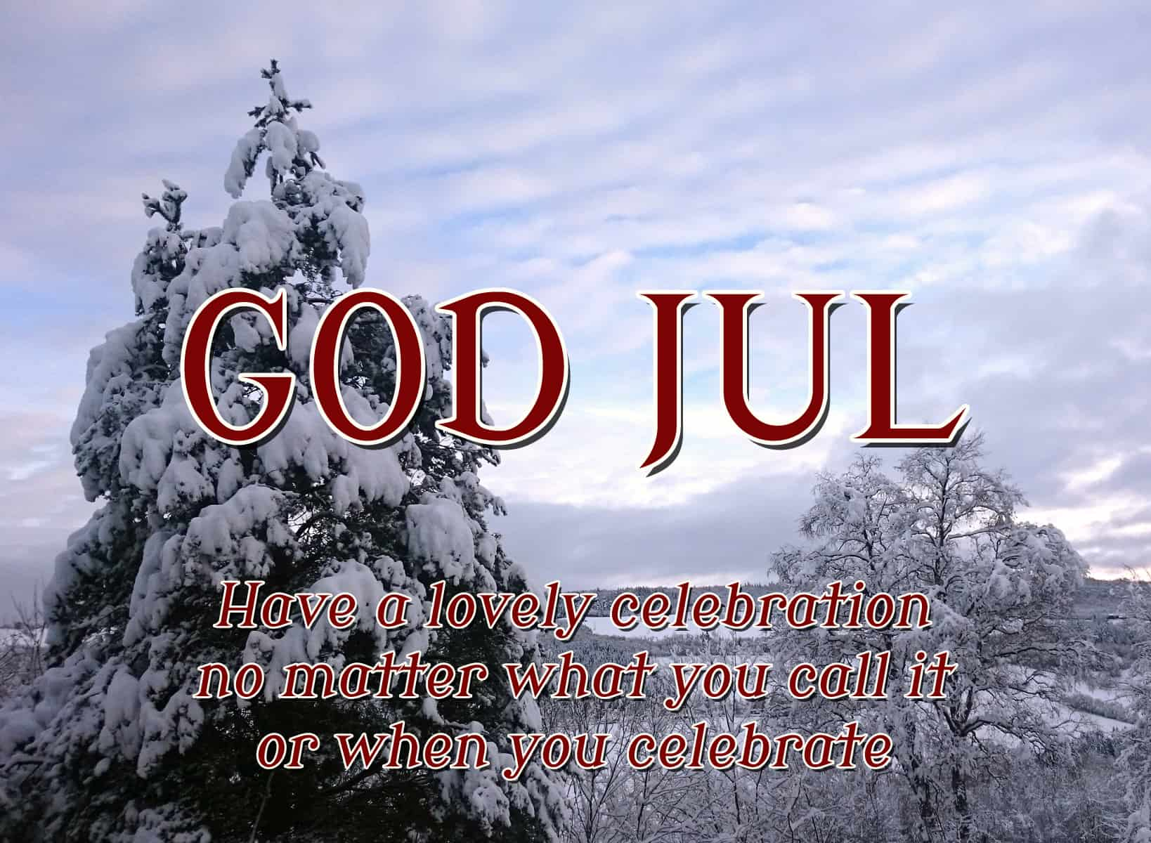 Have a Wonderful Jul