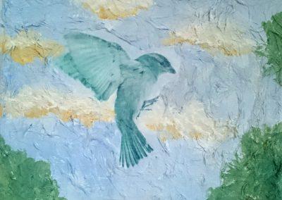 Serenity - Amulet art by Linda Ursin