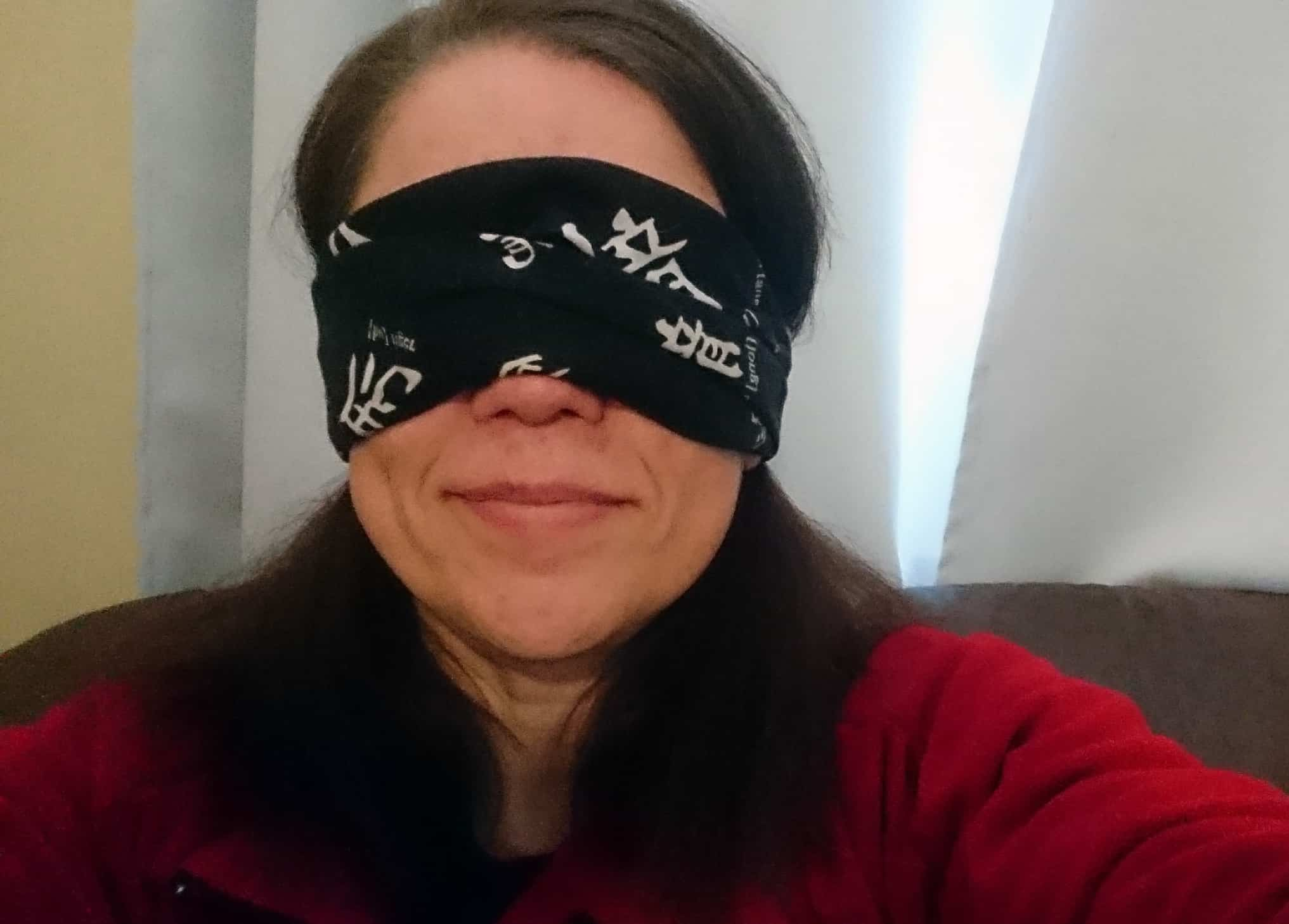 Painting blindfolded – How bad will it be?