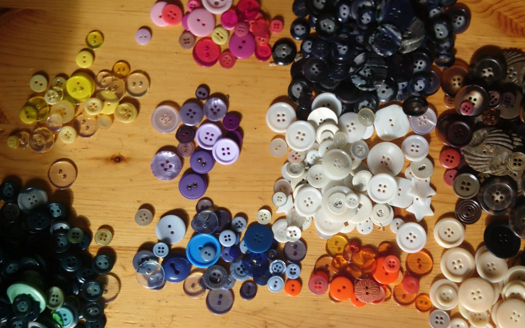 Can you make art out of buttons?