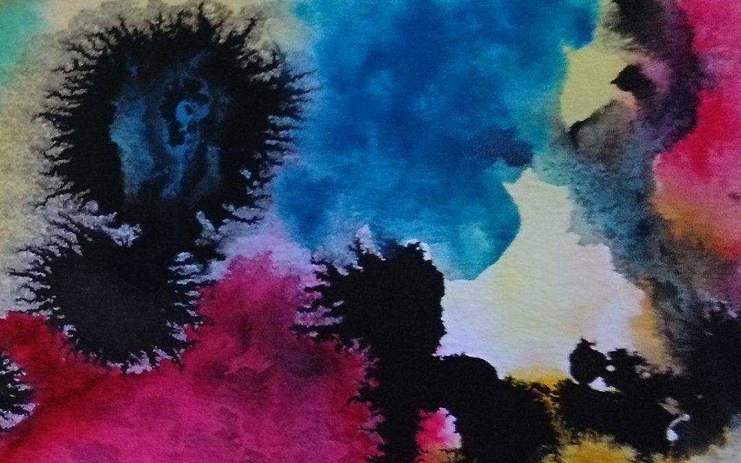 Watercolor and Ink – Disaster or Not?