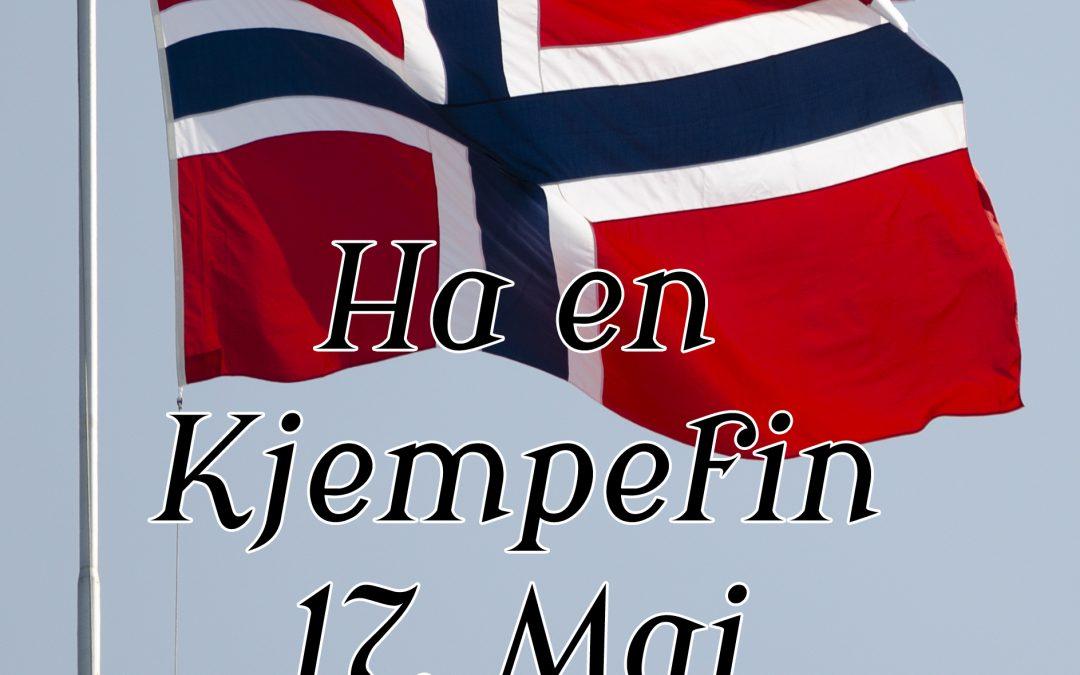Gratulerer med dagen! Happy Constitution Day Norway!