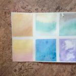 watercolor ecperiments 1